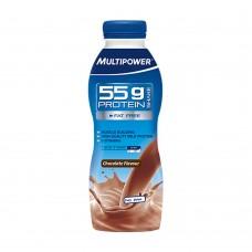 Ρόφημα πρωτείνη Multipower Protein Shake 55g Chocolate Fl